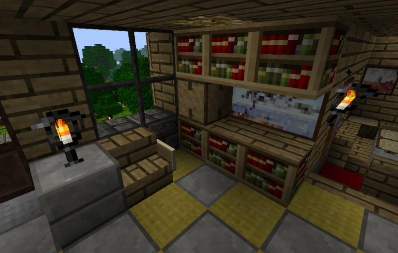minecraft chalet. Black Bedroom Furniture Sets. Home Design Ideas