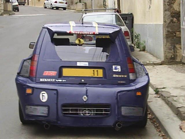 Super 5 gt v6 tour de corse maxi wrc for Renault super 5 interieur