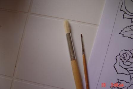 طريقة الرسم الزجاج بالتفصيل