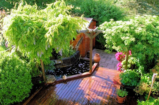 jardin d co jardin les plus beaux bassins. Black Bedroom Furniture Sets. Home Design Ideas