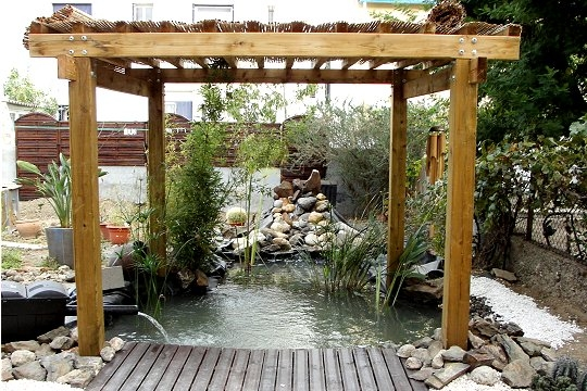 Jardin d co jardin les plus beaux bassins - Jardin zen avec bassin ...