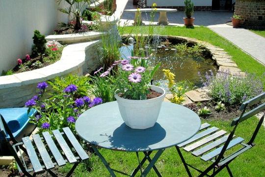 Jardin d co jardin les plus beaux bassins for Bassin a poisson le bon coin