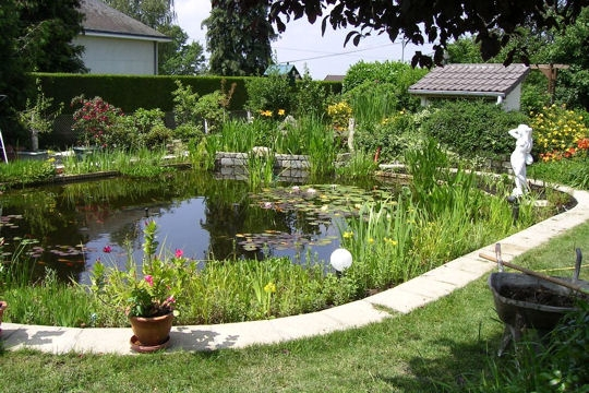 Jardin d co jardin les plus beaux bassins for Bassin de jardin grand volume