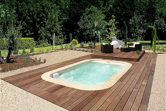 Jardin piscines de r ve for Prix piscine aquilus