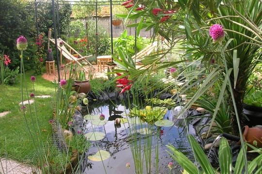 Jardin d co jardin les plus beaux bassins - Deco massif exterieur ...
