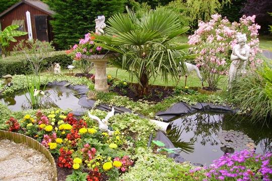 Jardin d co jardin les plus beaux bassins for Deco jardin fleuri