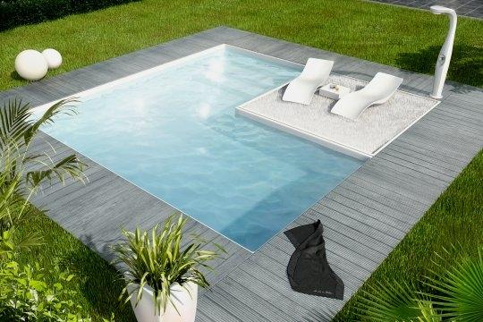 Jardin piscines de r ve for Piscine 4x3