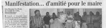frontignan forum, Gérard Buisson n'est plus