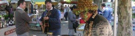 marché paysan à Frontignan