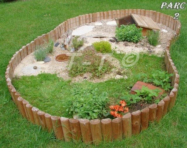 Am nagement d 39 un nouvel enclos pour ma horsfieldii for Amenagement jardin pour tortue
