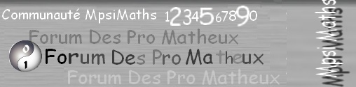 Forum Des Pro Matheux