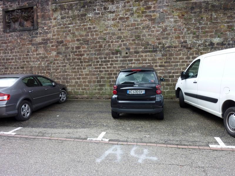 parking - Questions et remarques à la rédac