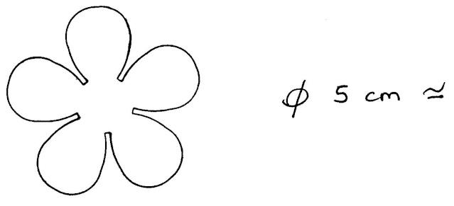 Gabarit Fleur En Carton Idee D Image De Fleur