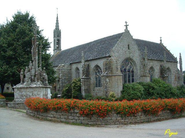 Chapelle et calvaire de Quilinen. dans Bretagne quilin10