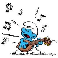 Les schtroumpfs - Schtroumpf musicien ...