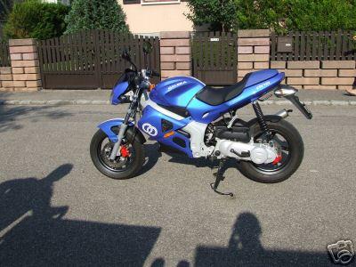 Moto sans vitesse 50cc