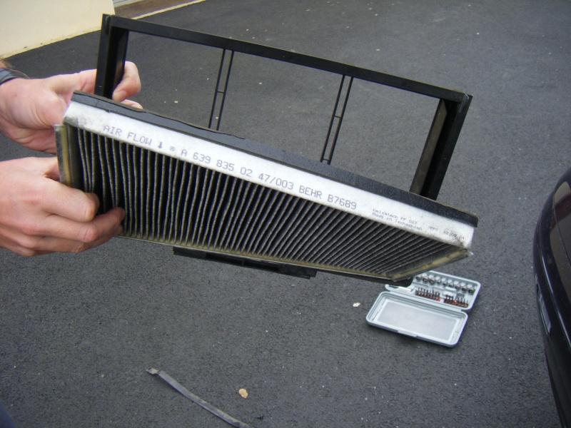 Tuto changer nettoyer filtre habitacle - Faire une clim avec un ventilateur ...
