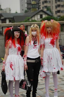 Le Visual Kei, est un genre particulier du rock japonais (J,rock), apparu dans les années 1980, où lesthétique visuelle des groupes et le concept quils