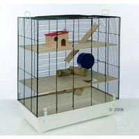 l 39 am nagement de la cage pour cochon d 39 inde. Black Bedroom Furniture Sets. Home Design Ideas