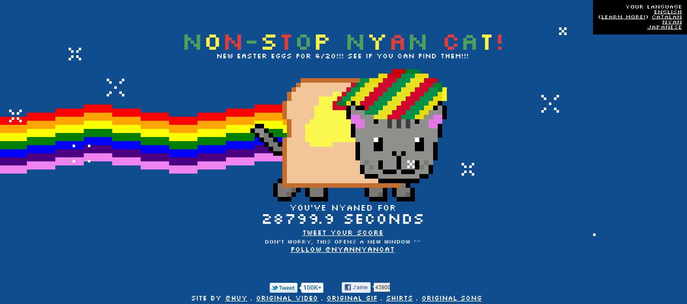 Nyan Cat Snas Tete
