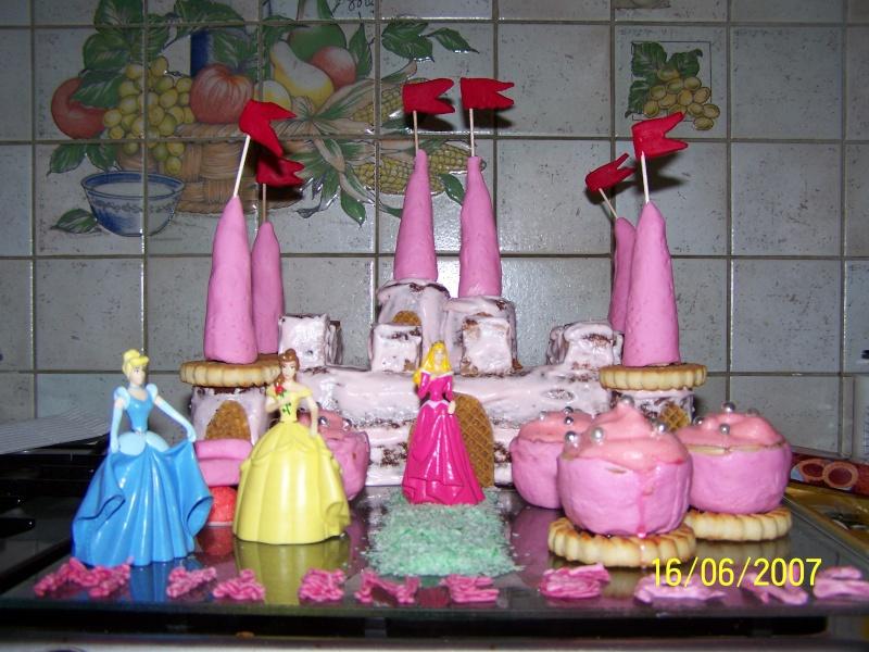 Gateau chateau princesse facile a faire les recettes les plus populaires de g teaux en europe - Gateau anniversaire princesse facile ...
