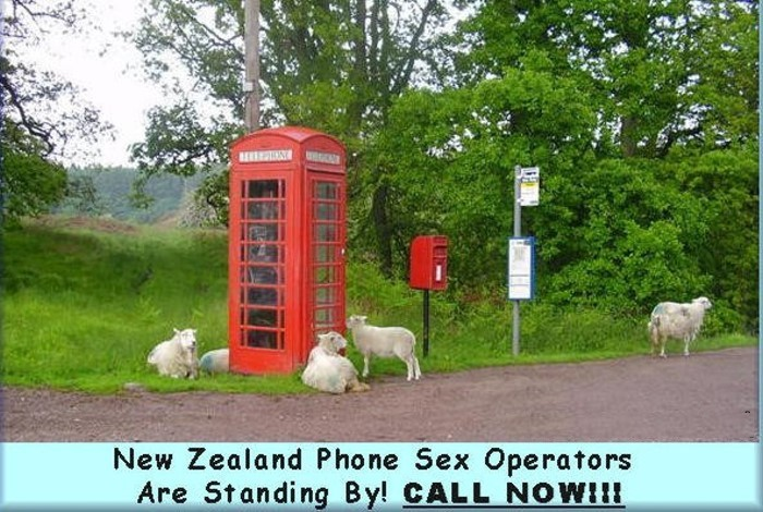 New zealand phone sex