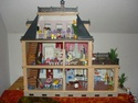 cherche acheter maison playmobil beige ancien mod le. Black Bedroom Furniture Sets. Home Design Ideas