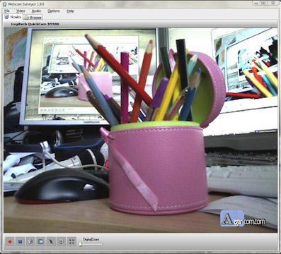 برنامج كاميرا الكمبيوتر العادية كاميرا مراقبة Webcam Surveyor