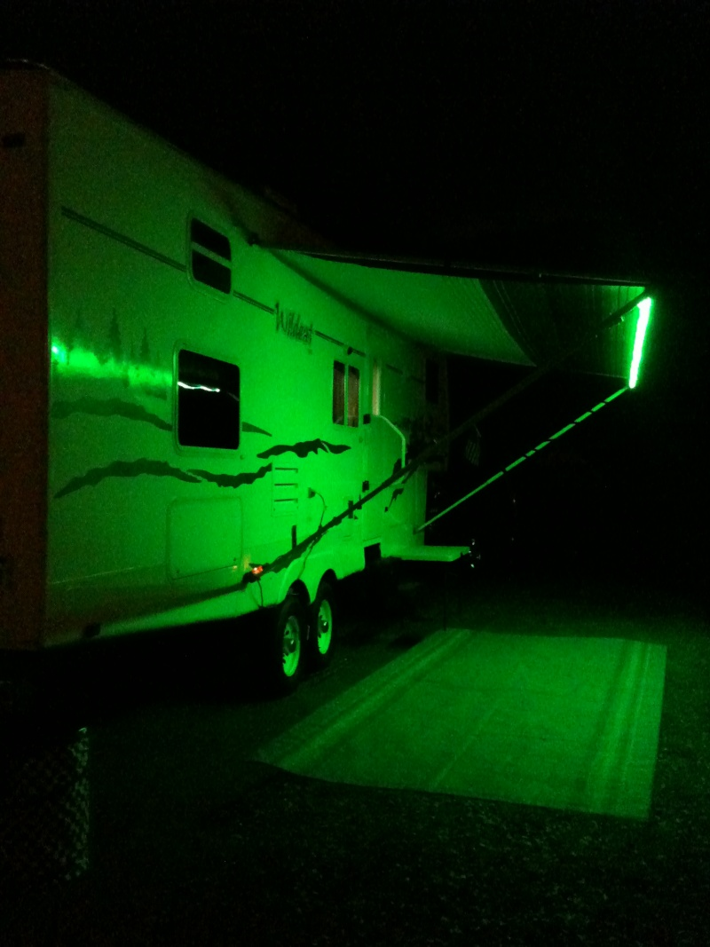 Rv Awning Party Lights Led Remote Control Led Usa Ebay
