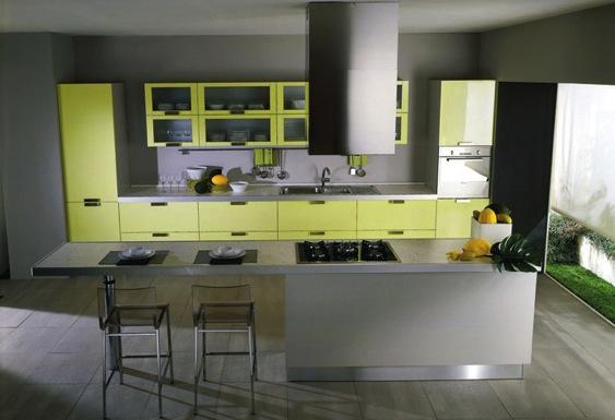 Quelle couleur de mur pour une cuisine avec des meubles for Quelle peinture pour les murs