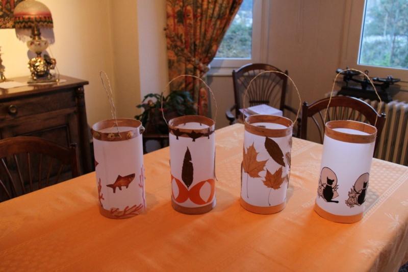Fabrication de lanternes pour la soir e de la saint martin wangen - Construire une lanterne volante ...