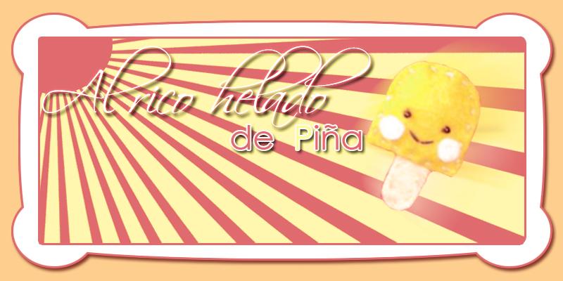 AL RICO HELADO DE PIÑA