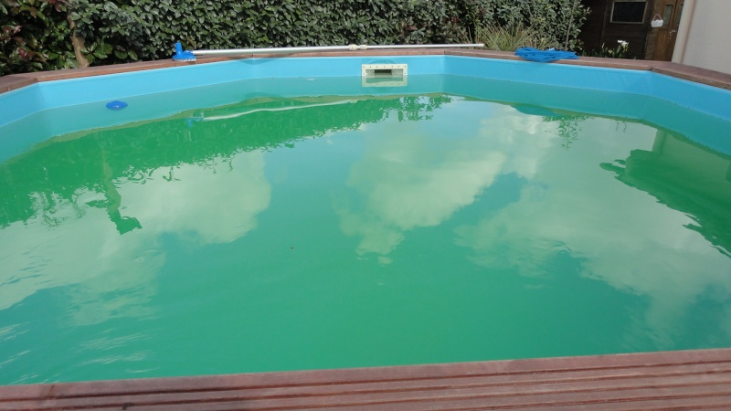 Eau verte quoi faire piscines filtration for Eau de piscine trouble