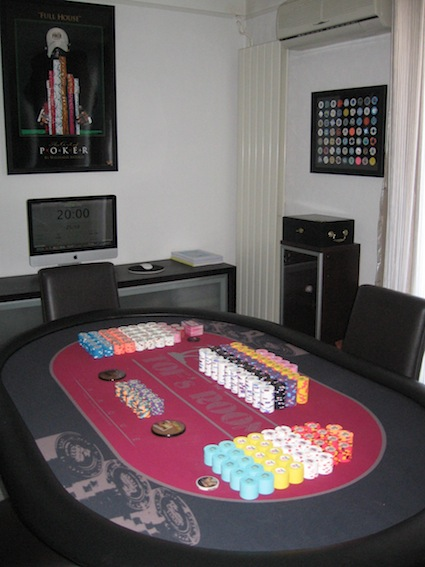 table de poker jarque ou haut de gamme poker chips factory. Black Bedroom Furniture Sets. Home Design Ideas