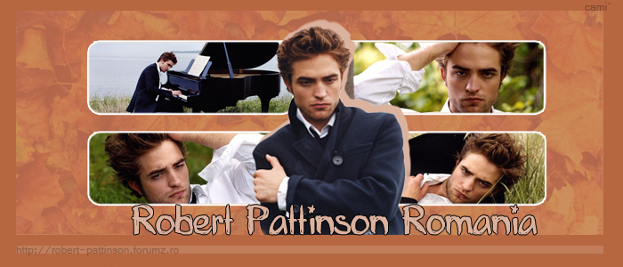 Robert Pattinson Romania