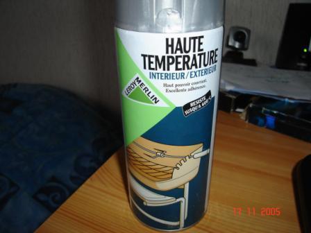Vernis haute temperature leroy merlin