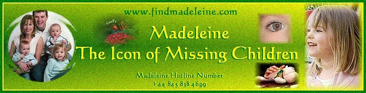 MADELEINE THE ICON OF MISSING CHILDREN