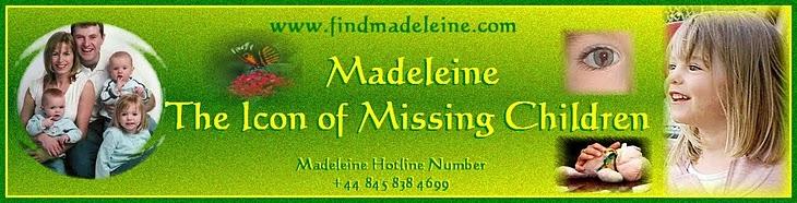 MADELEINE THE ICON OF MISSING CHILDREN