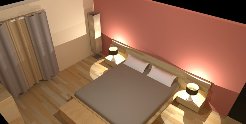 Awesome Deco Chambre Bois De Rose Ideas - Design Trends 2017 ...