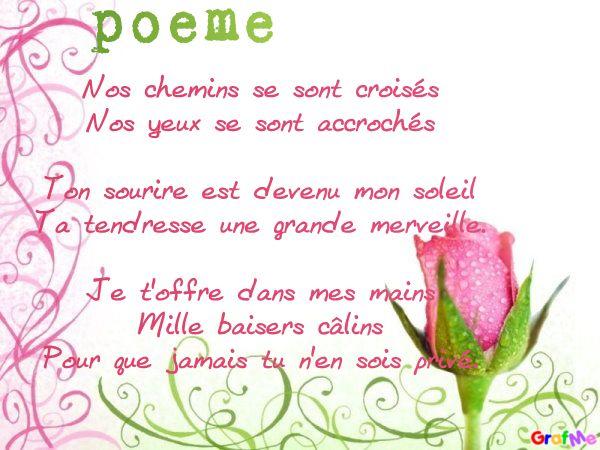 Poemes sur la rencontre amoureuse