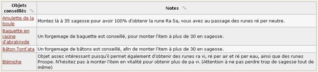 Sujet Unique Runes Le Taux De Brisage Forum Dofus Le