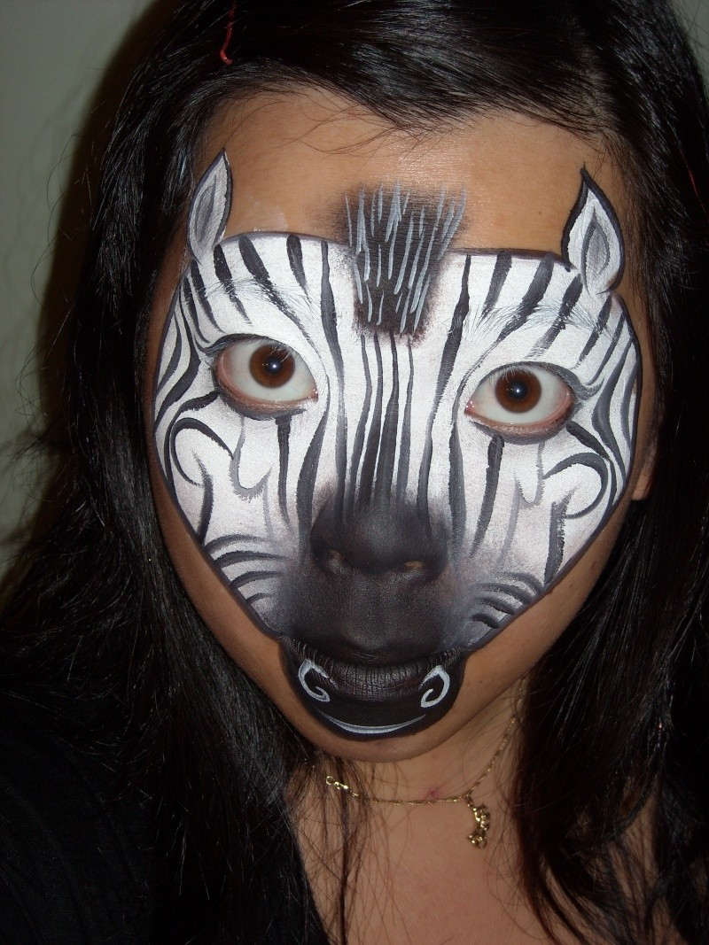 Face Painting Zoo Animals http://www.facepaintforum.com/t3413p15-zoo-animals