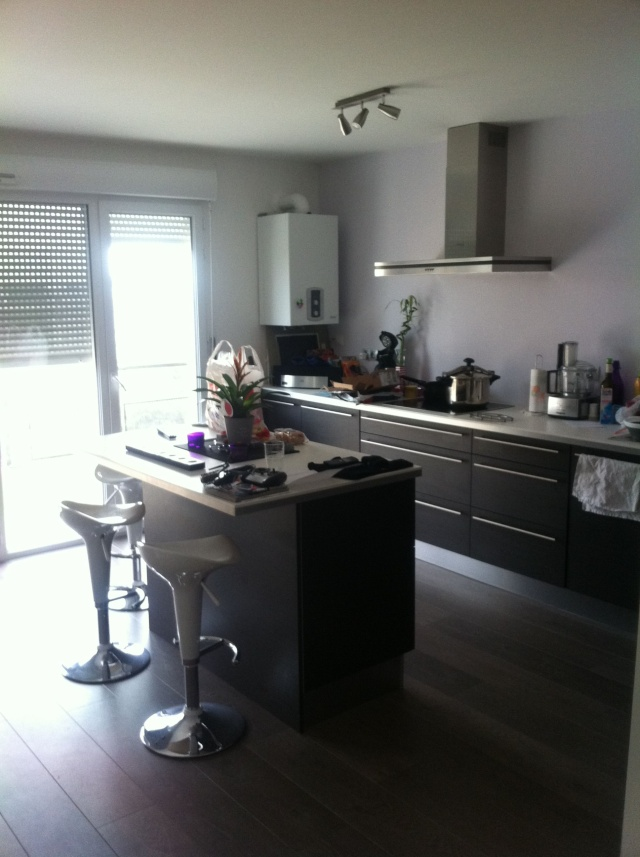 Conseil couleur sol mur cuisine ouverte sur salon for Conseil cuisine ouverte