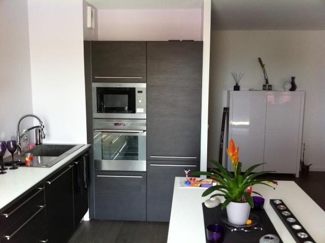 Conseil couleur sol mur cuisine ouverte sur salon - Conseil couleur cuisine ...