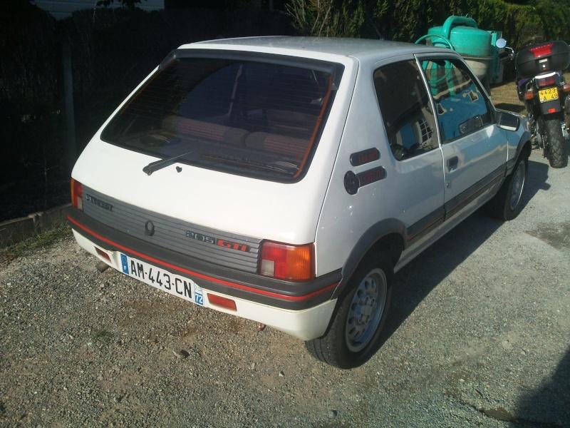 205 gti 1 6 l de 1986 for Garage peugeot alencon