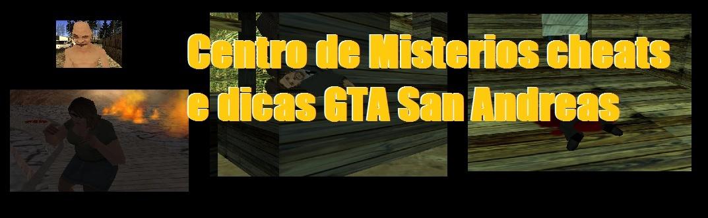 GTA SA Codigos Secretos,Misterios novos