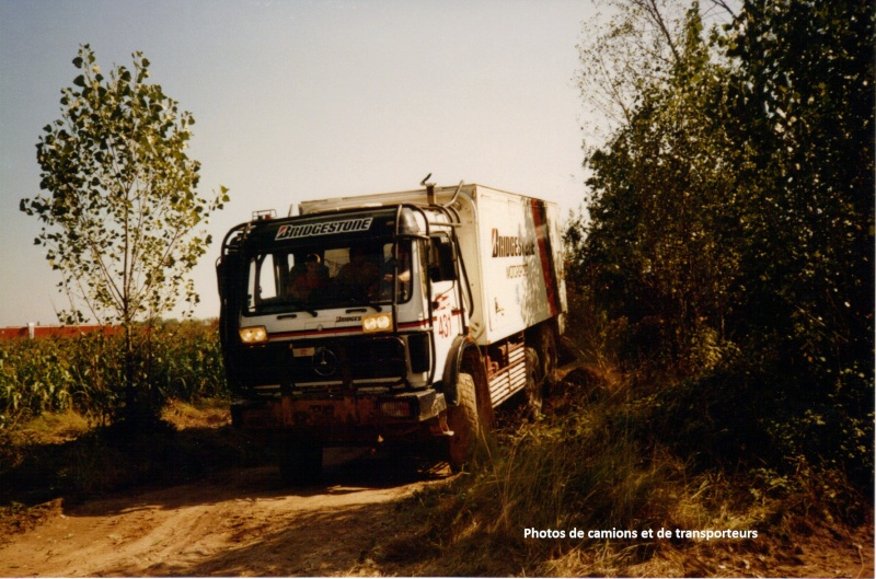 Camions rallyes raids for Garage mercedes maubeuge