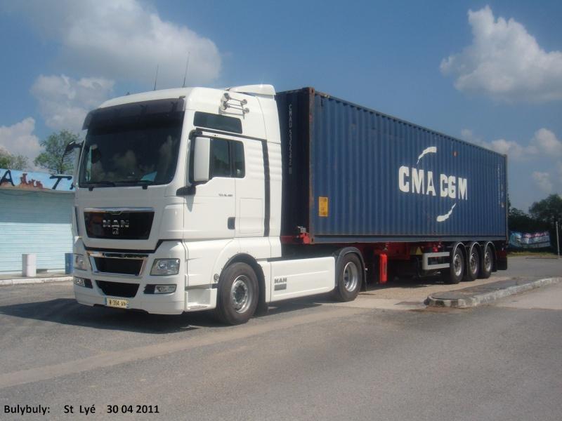 Divers france - Camion porte container avec grue occasion ...