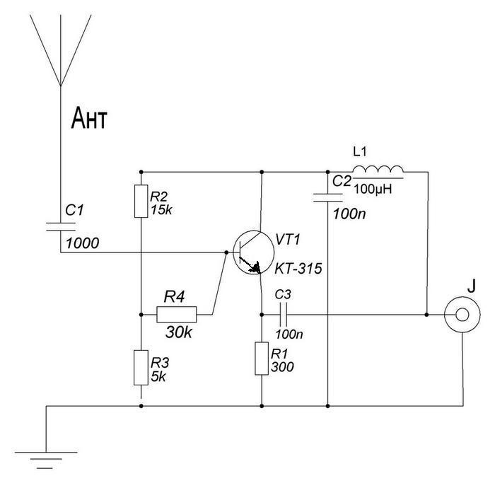 Схемы радиоприёмников приемники своими руками