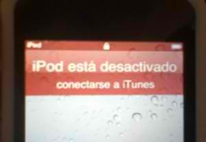 Ipod Touch Esta Desactivado Conectarse A Itunes